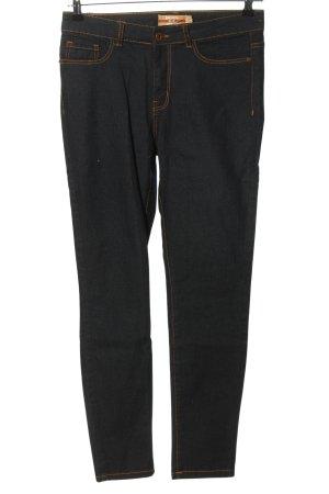 Janina Slim Jeans blau-grün Casual-Look
