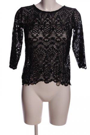 Janina Lace Blouse black casual look