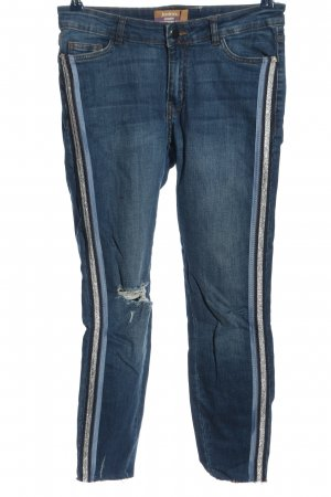Janina Jeansy z prostymi nogawkami niebieski W stylu casual