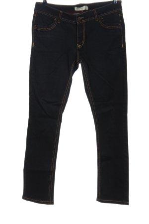 Janina Jeansy z prostymi nogawkami czarny W stylu casual
