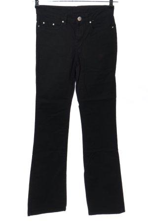 Janina Straight-Leg Jeans schwarz Casual-Look