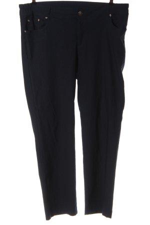 Janina Stretch Trousers black-blue elegant