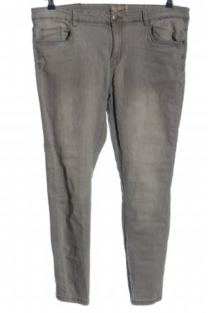 Janina Stretch Trousers light grey casual look