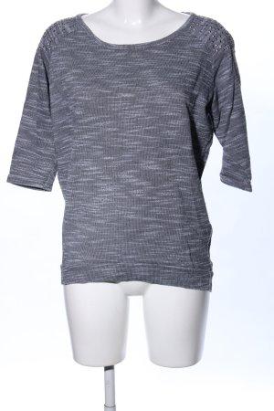 Janina Felpa grigio chiaro-bianco puntinato stile casual