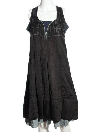 JANIS Balloon Dress black casual look