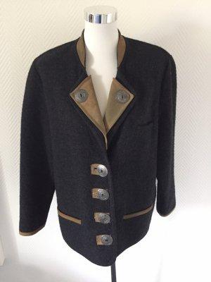 Avantgarde Tradycyjna kurtka czarny-jasnobrązowy