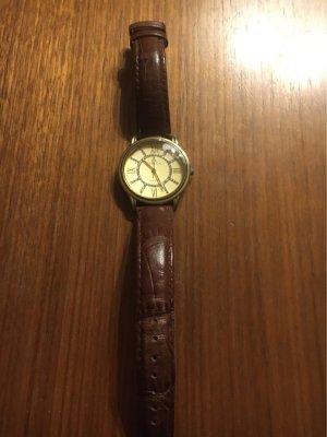 Japanische Uhr mit Leder Armband