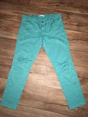 Pantalon 3/4 multicolore tissu mixte