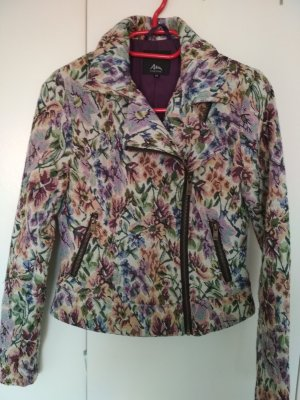 Ann Christine Blazer en tweed multicolore