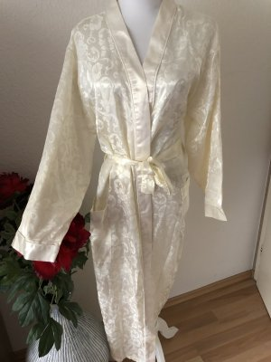 Dressing Gown natural white-gold-colored