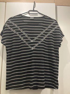 Jaqueline de Yong T-shirt nero-bianco