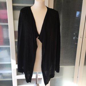 Jaqueline de Yong Coarse Knitted Jacket black