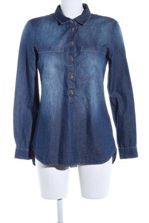 Jaqueline de Yong Blusa denim blu stile casual