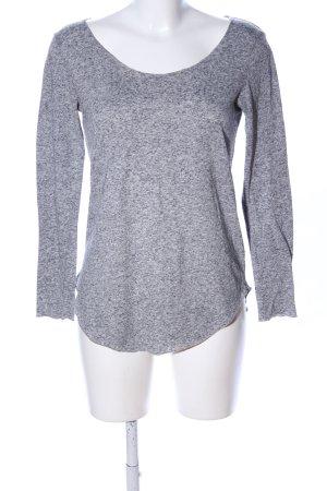 Jaqueline de Yong Manica lunga grigio chiaro puntinato stile casual