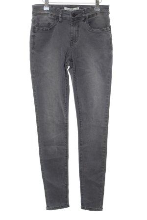 Jaqueline de Yong Skinny Jeans hellgrau Casual-Look