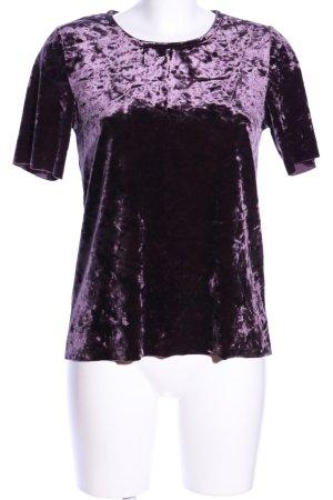 Jaqueline de Yong T-Shirt lila Elegant