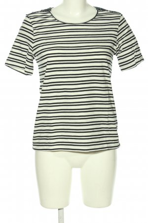 Jaqueline de Yong T-shirt bianco-nero stampa integrale stile casual