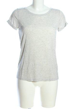 Jaqueline de Yong T-Shirt hellgrau meliert Casual-Look