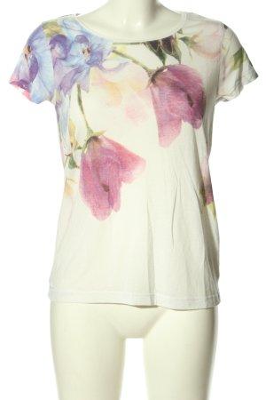 Jaqueline de Yong T-Shirt Blumenmuster Casual-Look