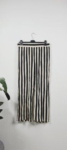 Jaqueline de Yong Pantalón tipo suéter negro-beige claro