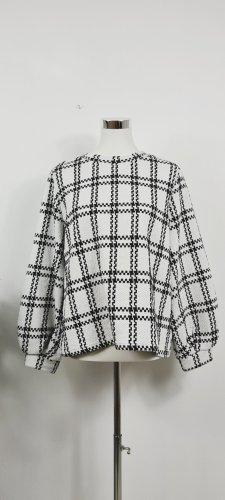 Jaqueline De Young/ Sweatshirt/ Schwarz Weiß/ Größe L