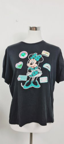 Jaqueline de Yong T-shirt nero-blu cadetto