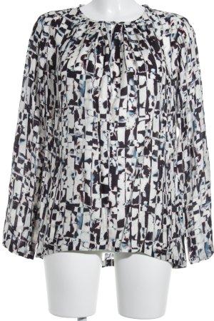 Jaques Britt Langarm-Bluse mehrfarbig Business-Look
