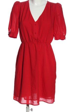 Jarlo A-Linien Kleid rot Elegant
