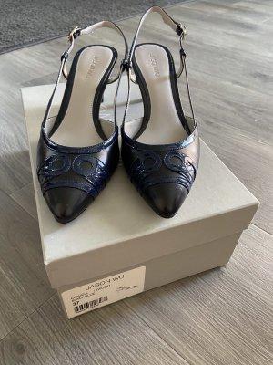 Jason wu Décolleté modello chanel nero-blu scuro