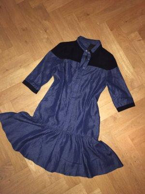 Jaspal Jeans schwarz Mesh-Kleid