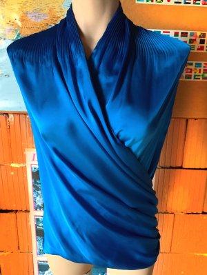 Jasper Conran, schöne blitzblaue Bluse  Gr. 34/kleine 36 (UK 8)