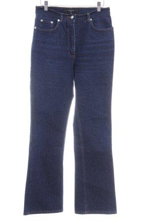Jasper Conran Straight-Leg Jeans dunkelblau Casual-Look