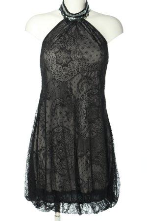 Jaune Rouge Spitzenkleid schwarz Elegant