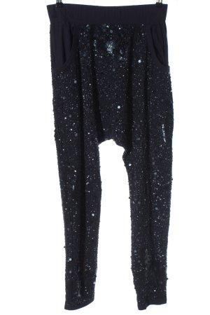 jaunt Pantalon large noir style décontracté