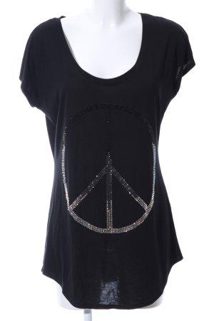 Jay Dazé T-Shirt schwarz Swaroski 38/40