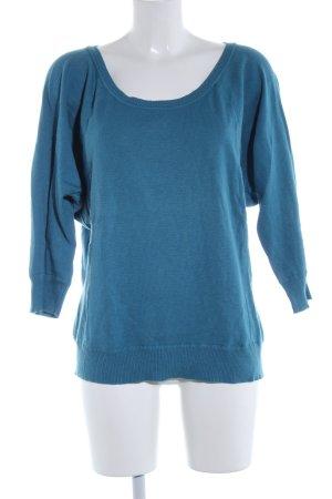 jbc Maglione oversize blu stile casual