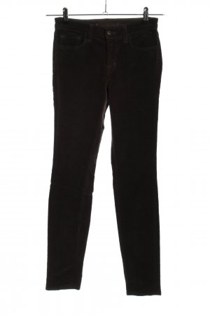 JBRAND Corduroy Trousers black casual look