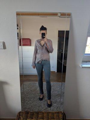 JBRAND Pantalón de pana gris oscuro Algodón