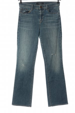 JBRAND Boot Cut Jeans blau Casual-Look