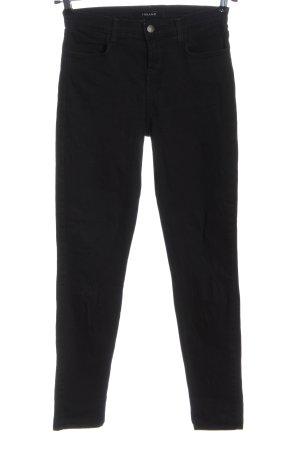 JBRAND Jeans a vita alta nero stile casual