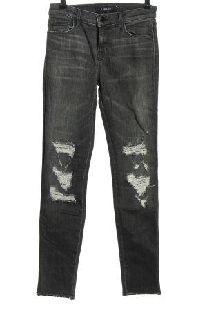JBRAND Skinny Jeans schwarz Casual-Look