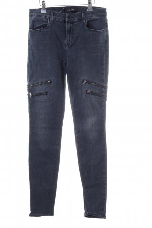 JBRAND Skinny Jeans blau Casual-Look