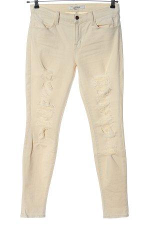 JBRAND Slim Jeans wollweiß Casual-Look