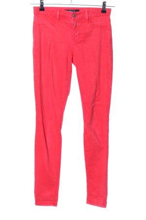 JBRAND Pantalone sfoderato rosso stile casual