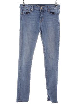 JBRAND Jeansy z prostymi nogawkami niebieski W stylu casual