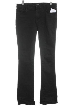 JBRAND Straight-Leg Jeans schwarz Street-Fashion-Look
