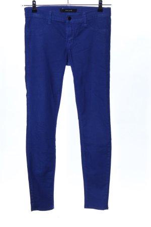 JBRAND Stretchhose blau Casual-Look