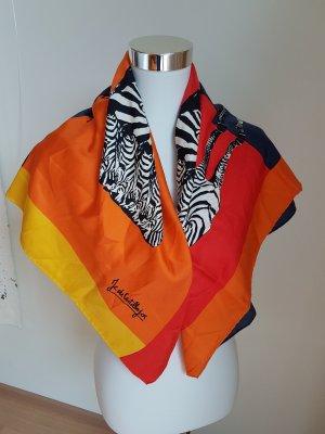 Castellajac Sciarpa di seta multicolore Seta
