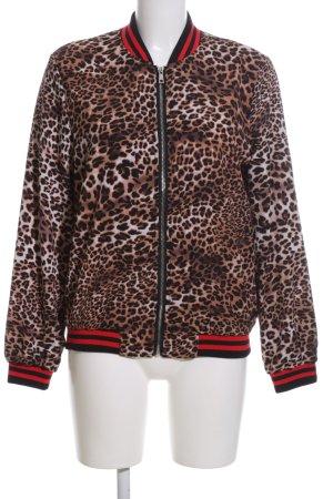 JCL Blouson leopard pattern casual look
