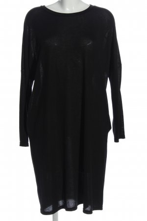 JCL Sweater Dress black casual look